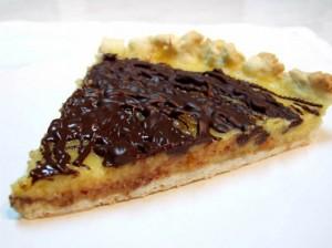 Tartă De Portocale Cu Glazură De Ciocolată