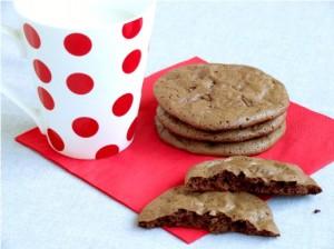 fursecuri ciocolata double chocolate cookies