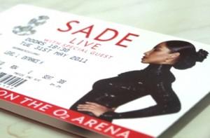 sade ticket