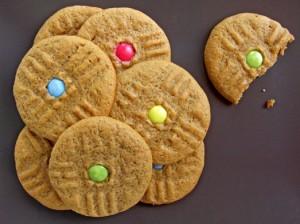 cookies cu unt de arahide si melasa