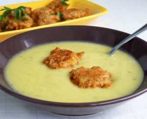 supa crema legume bhaji pastarnac