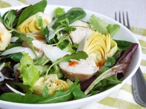 Salată Cu Pui Şi Anghinare
