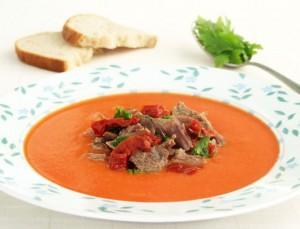 supa crema vita rosii uscate