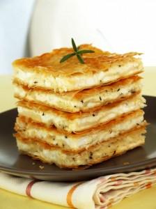 Plăcintă Cu Brânză De Capră Şi Chimen