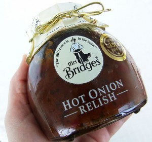 mrs bridges hot onion relish