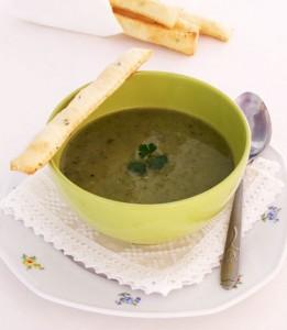 Supă Cremă De Ceapă Verde