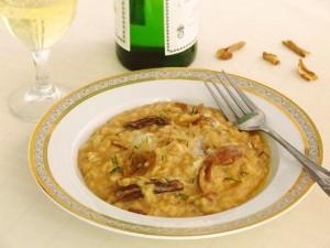 risotto hribi gorgonzola 2