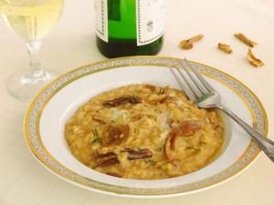 Risotto Cu Hribi Şi Gorgonzola