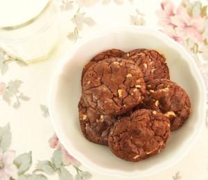 cookies cu ciocolata si alune