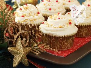 """Cupcakes """"Lichior De Ouă"""""""