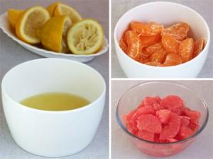 Dulceață De Grapefruit Și Mandarine